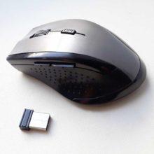 Мышь беспроводная OEM Black/Silver Черно-серебристая Б/У