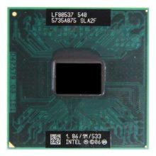 Процессор Intel Celeron M 540 @ 1.86GHz/1M/533 Socket P (SLA2F)