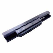 Аккумуляторная батарея для ноутбука Asus A43, A53, A54, A83, A84, K43, K53, K54, K84, P43, P53, Z52, Z53, X43, X44, X45, X52, X53, X54, X84 DC 10.8V 4400mAh Black Черная (A31-K53, A32-K53)