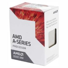 Процессор AMD A10-9700 Socket AM4, 4x3500 МГц, up to 3.8 GHz, Radeon R7, 2 MB Cache, кулер BOX (AD9700AGABBOX, AD9700AGM44AB)