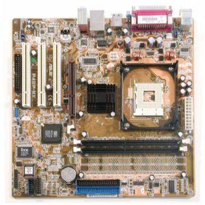 Материнская плата (M/B) S478 Asus P4SP-MX VGA+AGP 2xIDE FDD 3xPCI mATX
