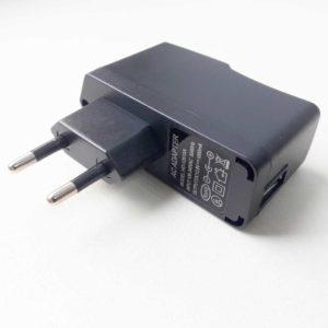 Блок питания для видеокамер, систем видеонаблюдений и прочих цифровых устройств USB 12.6V 1A Black Черный (ChangYi CY-12V1A)