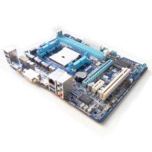Материнская плата Gigabyte GA-F2A75M-HD2 Socket-FM2 A75 2xDDR3-1866 PCI-E HDMI/DVI/DSub 8ch 4xSATA3 RAID 4xUSB3 GLAN mATX Б/У