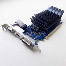 Видеокарта PCI-E 1024Mb Asus GeForce 210 Silent DDR3 HDMI, DVI, VGA (D-Sub) 64-Bit (210-SL-TC1GD3-L) Б/У