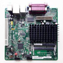 Материнская плата INTEL D2500HN NM10, CPU Atom D2500 2x1.86 Ггц, 2xDDR3 SO-DIMM, 1xPCI, 2xSATA, встроенный звук: HDA, 5.1, встроенная графика Intel Graphics Media Accelerator 3600, Ethernet: 1000 Мбит/с, форм-фактор mini-ITX
