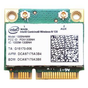 Модуль Wi-Fi + Bluetooth 3.0 Intel Centrino Wireless-N 130 (130BNHMW, PD9130BNH, 1000M-130BNH, G15170-006, INT-11230BNHMW)