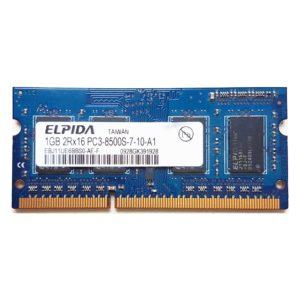Модуль памяти SO-DIMM DDR3 1Gb PC-8500 1066 Mhz Elpida