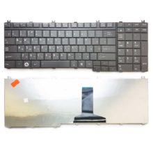 Клавиатура для ноутбука Toshiba Satellite A500, A500D, A505, A505D, F501, L350, L350D, L355, L355D, L500, L500D, L505, L505D, L510, L510D, L515, L515D, L550, L550D, L555, L555D, P200, P200D, P205, P205D, P300, P300D, P305, P305D, P500, P500D, P505, P505D, X200, X205, Qosmio G50, G55, F60, F750, X300, X500, X505, Black Чёрная (OEM)