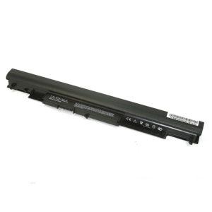 Аккумуляторная батарея для ноутбука HP 14-ac, 14-af, 15-ac, 15-af, 15-ay, 14-g, 14-q, 15-g, 15-q, 17-y, 240 G4, 245 G4, 246 G4, 250 G4, 255 G4, 256 G4 14.8V 2600mAh Black Черная (HS04)