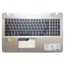 Верхняя часть корпуса с клавиатурой для ноутбука Asus X541, D541, R541, D541N, D541NA, D541NC, D541S, R541S, R541SA, R541U, R541UA, R541UJ, R541UV, X541N, X541NA, X541NC, X541S, X541SA, X541SC, X541U, X541UA, X541UJ, X541UV (13N0-ULA0702, 13NB0CG1AP0302, 0KN0-6723RU00, 0KN0-UK2RU13, NSK-WF00R, 9Z.ND0SU.00R, X541 BR)