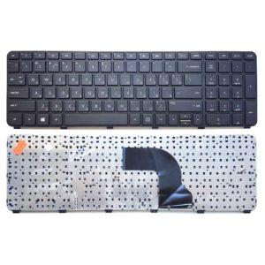 Клавиатура для ноутбука HP Pavilion dv7-7000, dv7-7100, dv7-7200, dv7-7300 без рамки, Black Черная (639396-171, 670321-171, NSK-CK0UW, 9ZN7YUW00A212)