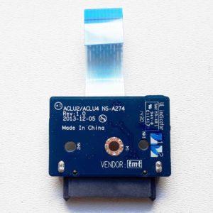 Плата DVD SATA со шлейфом для ноутбука Lenovo G50-30, G50-45, G50-70 (ACLU2/ACLU4 NS-A274)