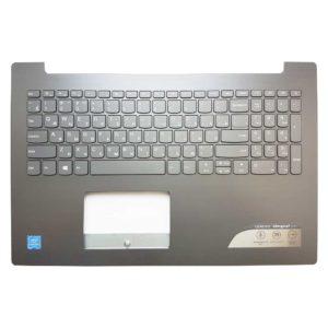 Верхняя часть корпуса с клавиатурой для ноутбука Lenovo IdeaPad 320-15, 320-15IAP, 320-15AST, 320-15IKB, 520-15IKB, 330-15 ORIGINAL ОРИГИНАЛ (AP13R000320, AM13R000600, DG521_LOG_UP_KB_BRK_ASSY_NEW, EC13R000100, DG521_TP_BRK, PK1314F1A05, SN20M63062, LCM16H63SU-686, LCM16H6)