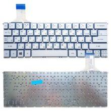 Клавиатура для ноутбука Acer Aspire S7-391, Acer Aspire P3, P3-171, P3-131, Acer TravelMate X313, X313-E, X313-M Silver Серебристая (MP-12Q33SU6200)