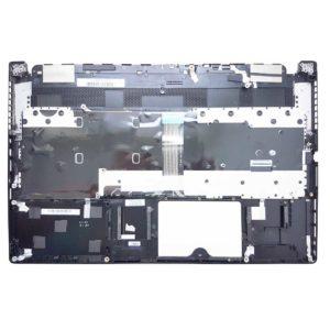 Верхняя часть корпуса с клавиатурой и подсветкой для ноутбука MSI GS63, GS63 Stealth 8RE без тачпада (E2P-6K1C218-Y31, 3076K5C222Y31, E2P-6K1C2XX-Y31, NSK-FCBBN 0R, 9Z.NEKBN.B0R, S1N3ERU, S1N3ERU211D10) с разбора