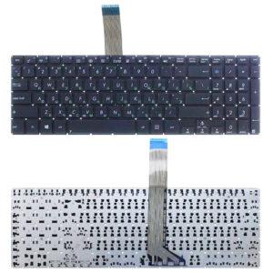 Клавиатура для ноутбука Asus VivoBook K551, K551L, K551LA, K551LB, K551LN, S551, S551L, S551LA, S551LB, S551LN, V551, V551L, V551LA, V551LB, S551LN Black Чёрная (OEM)