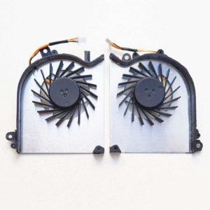 Вентиляторы, кулеры для ноутбука MSI GS60 Пара: левый и правый, CPU+GPU, 3-pin (OEM)