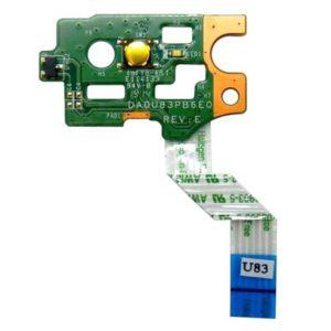 Кнопка включения, старта, запуска для ноутбука HP Pavilion 15-N, 14-N, 15-F, 15-n000, 14-n000, 15-f000 (DA0U83PB6E0, 32U83PB0000)