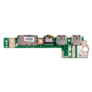 Плата USB, AUDIO, CARD Reader для ноутбука Asus X402, X502C, X502CA (X402CA_IO 69N0P1B10B02-01)
