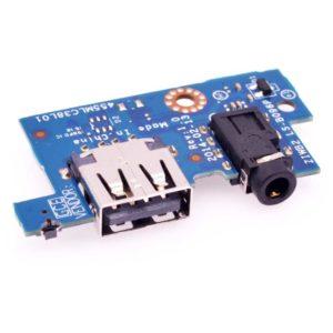 Плата USB, AUDIO для ноутбука Lenovo B40-45, B40-70, B50-30, B50-70, B50-80 (ZIWB2 LS-B096P, 455MLC38L01)
