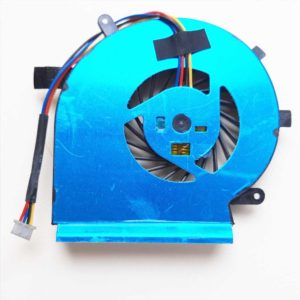 Вентилятор, кулер для ноутбука MSI GE62VR, GE72VR, GP62MVR, GP62VR, GP72VR для CPU, 4-pin (OEM)