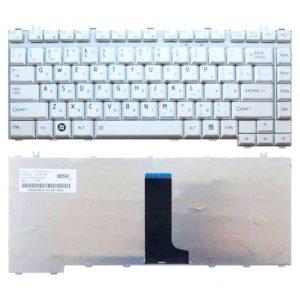 Клавиатура для ноутбука Toshiba Satellite A200, A205, A210, A215, A300, A300D, A305, A350, A350D, A355, A355D, L300, L300D, L305, L305D, L450, L450D, L455, L455D, M200, M205, M300, M305, M500 Silver Серебристая (OEM)