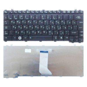 Клавиатура для ноутбука Toshiba Satellite A600, T130, T135, U400, U405, U500, U505, Portege M800, M900 Black Чёрная (OEM)