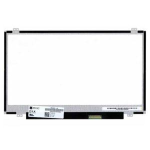 Матрица 14.0″ 40-pin LED 1366×768 HD Slim Тонкая, Glade Глянцевая, Расположение разъема: Right-Down Справа-Снизу; Крепление: Сверху-Снизу (HB140WX1-300) с разбора